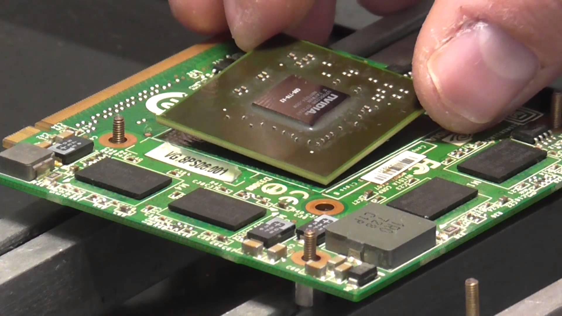 ремонт видеокарты ноутбука Киев